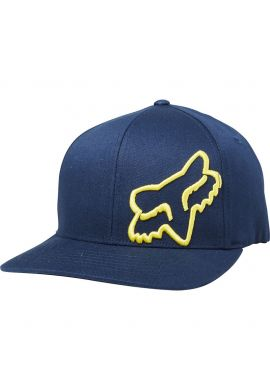 "Gorra flexfit FOX ""Flex 45"" navy / yellow"