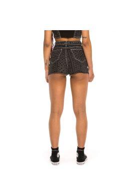 "Shorts chica GRIMEY ""Carnitas"" black denim"
