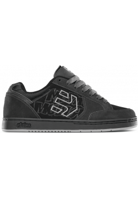 "Zapatillas ETNIES ""Metal Mulisha Swivel"" black grey"